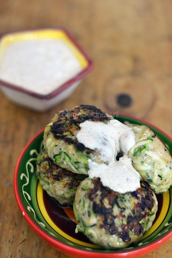 Super Healthy Sunday: Kip-Courgetteburgers