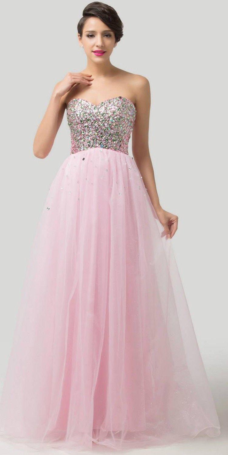 vestidos-rosa-plateado | Dresses / Fashion | Pinterest | Vestidos ...