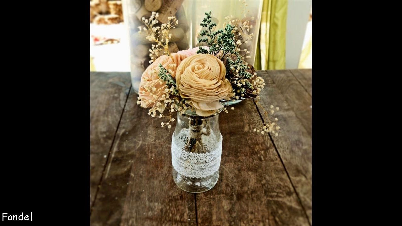 Diy wedding table decorations ideas  DIY Vintage Wedding Table Decorating Ideas  Diy vintage weddings