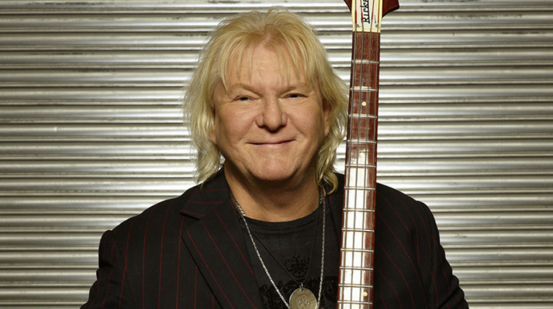 Chris Squire, founding member and bass player for Yes, RIP