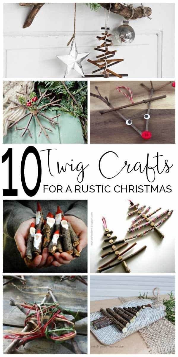 Photo of Twig Crafts for Christmas