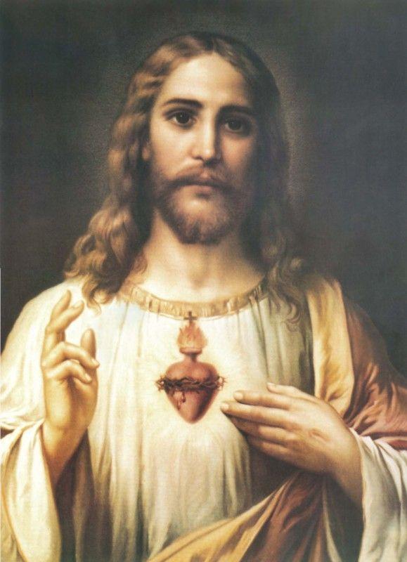 Hermosa imagen del sagrado coraz n de jes s que me remonta for Fotos del corazon