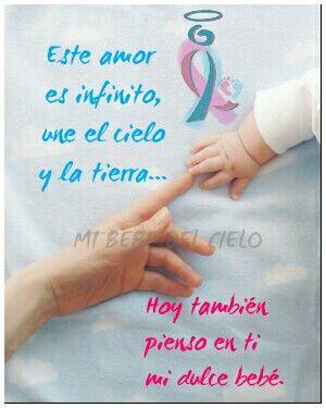 Te Amo Pérdida De Un Bebé Angel Bebe Y Frases Para Bebes
