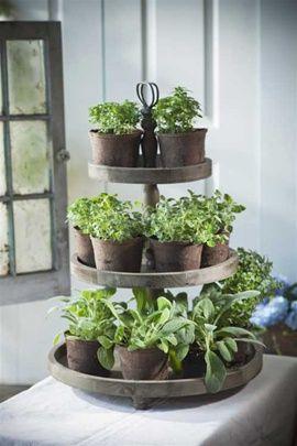3 Tier Round Display Diy Herb Garden Indoor Herb Garden
