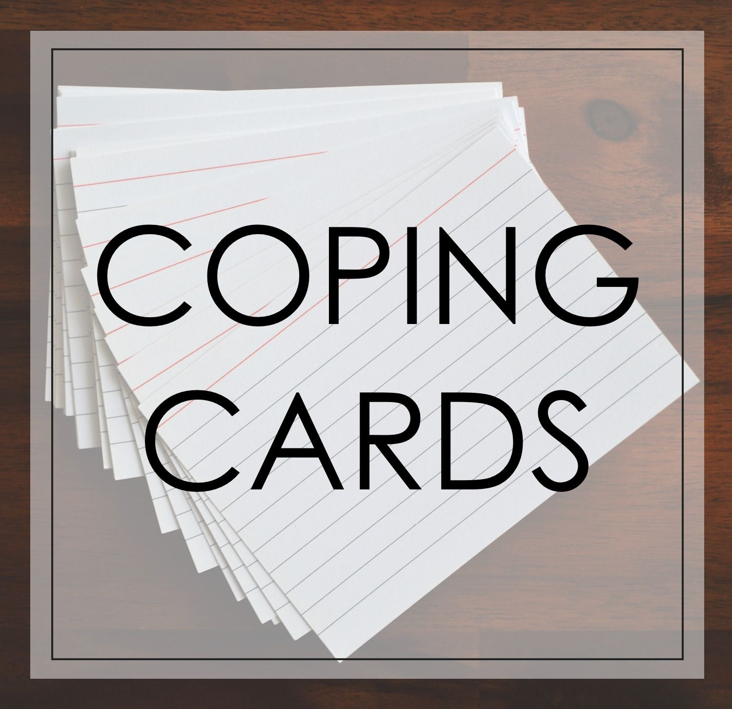 Coping Skills Jeopardy