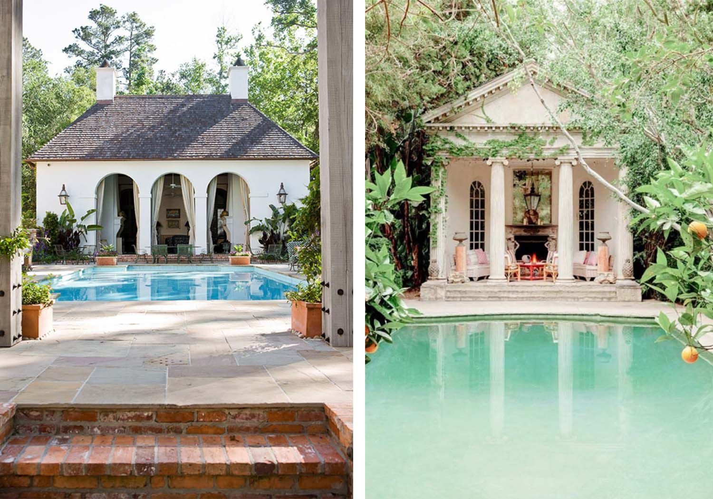 16 Pool Houses We Want To Move Into Pool Houses House Backyard