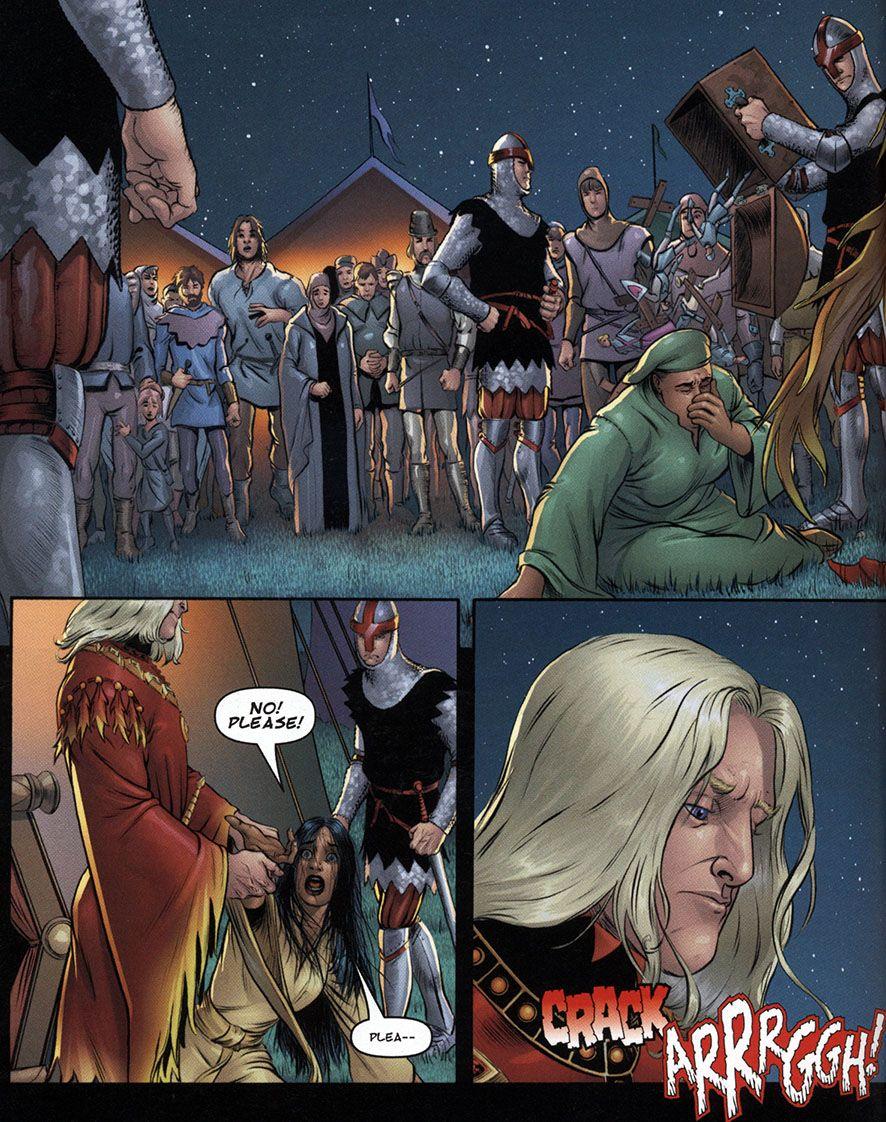 the sworn sword comic pdf
