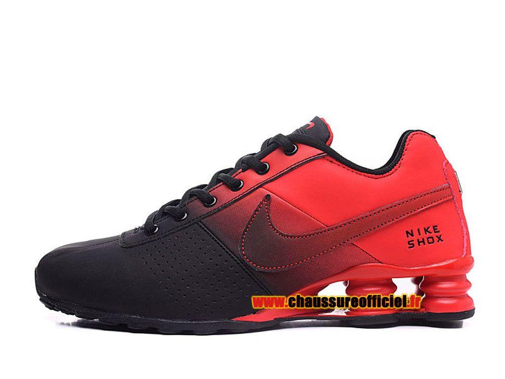 brand new 5d590 607a8 ... tlx chaussures blanc noir rouge 95df9 0283c new zealand nike shox  deliver chaussures nike officiel pas cher pour homme noir rouge 05b95 b93cc  ...