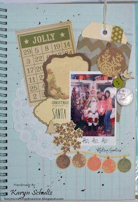 Karyn's Crafting Obsession: Red SMASH folio