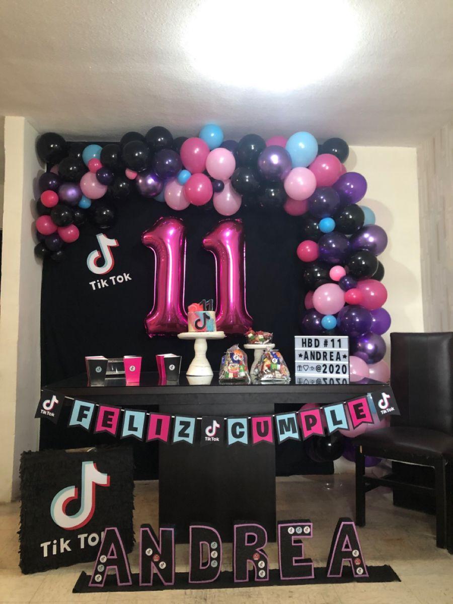 Tiktok Theme Party Girls Birthday Party Decorations Birthday Surprise Party 12th Birthday Party Ideas