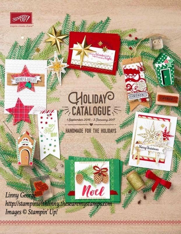 September sees the start of our Holiday Chirstmas Catalogue - YAY!! The products & bundles are so cute! Yep, I've seen them - Demonstrators get early access from beginning of August. Yet another thing I love about Stampin' Up!  Did you know that if you were thinking of purchasing the SU kit &you do so in August, you too can purchase the Christmas goodies early as part of your kit!!   I will be getting copies of the Holiday Catalogue soon, so let me know if you would like one.  Linny