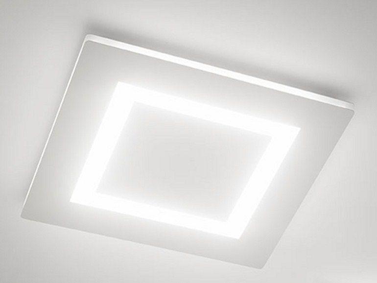 Plafoniera Incasso Led 60x60 : Flat lampada da soffitto nel 2019 cose comprare ceiling