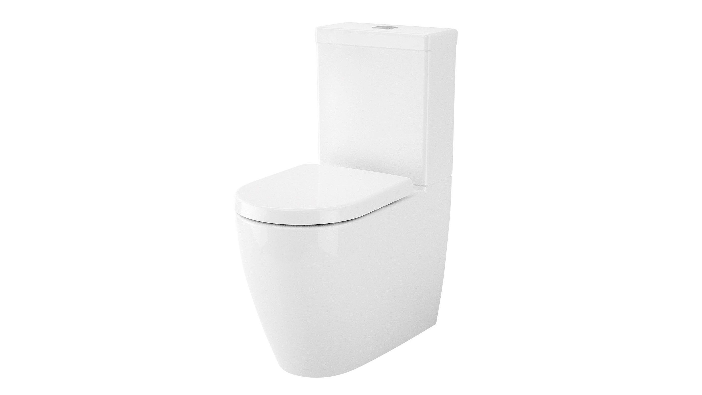 Caroma Urbane Wall Faced Close Coupled Toilet Suite | Bathroom ideas ...