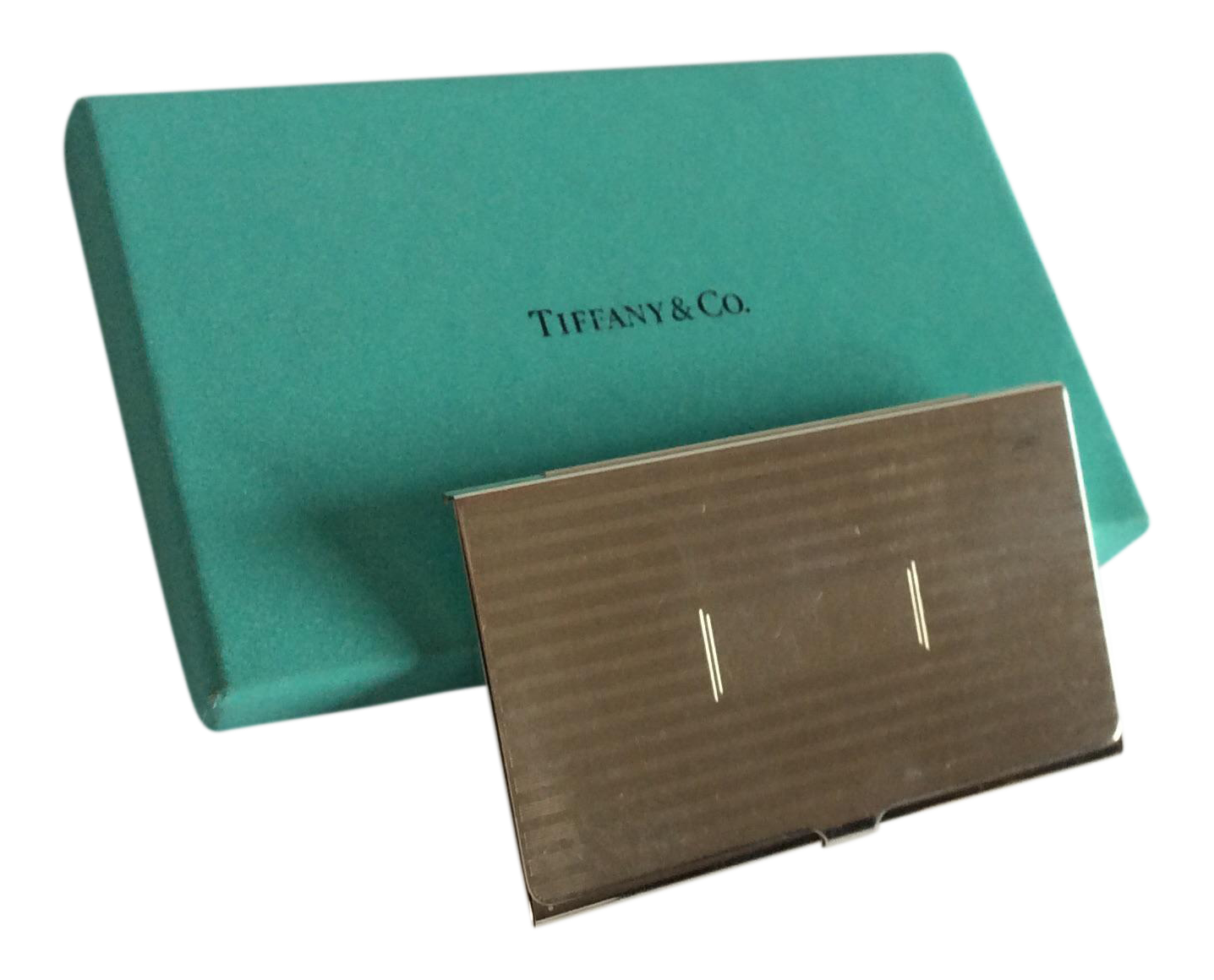 Tiffany Sterling Silver Business Card Case   Business card case ...