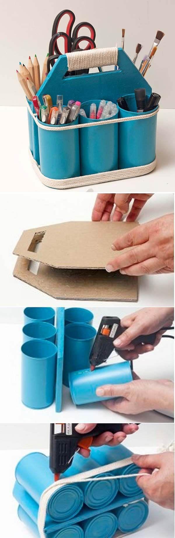 26 Clevere Organisation und Lagerung von PVC-Rohren zur Vereinfachung Ihres Lebens #hausdekodekoration