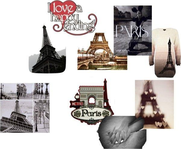 """Paris"" by hattiekirby on Polyvore"