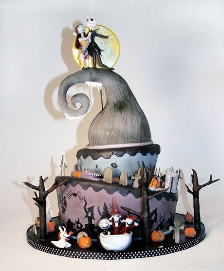 Jack y Sally Cake