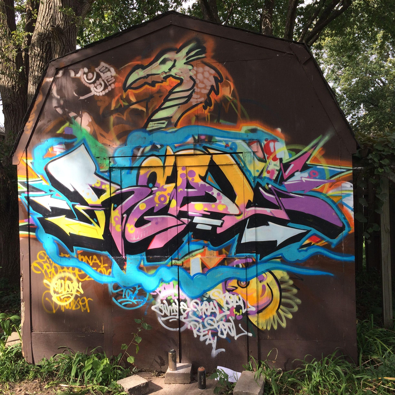 Real One Graffiti Burner Spraypaint Aerosol