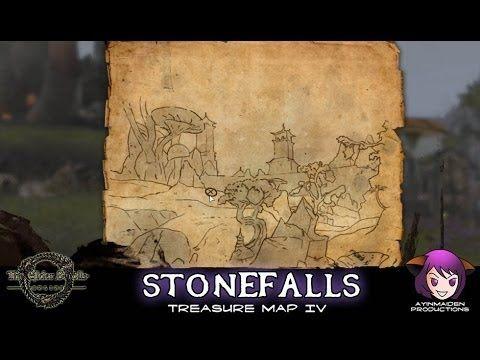 Stonefalls Treasure Map IV | ESO - Treasure Map | Pinterest ...