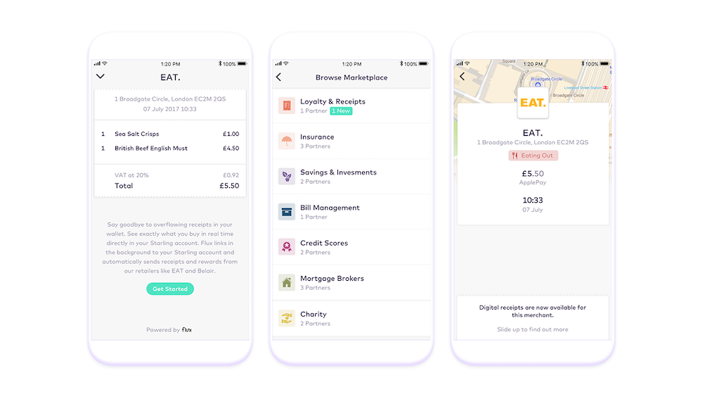 The award winning mobile current account Starling Bank