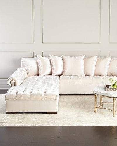 Haute House Divine Tufted Left Chaise Sectional 157 Products