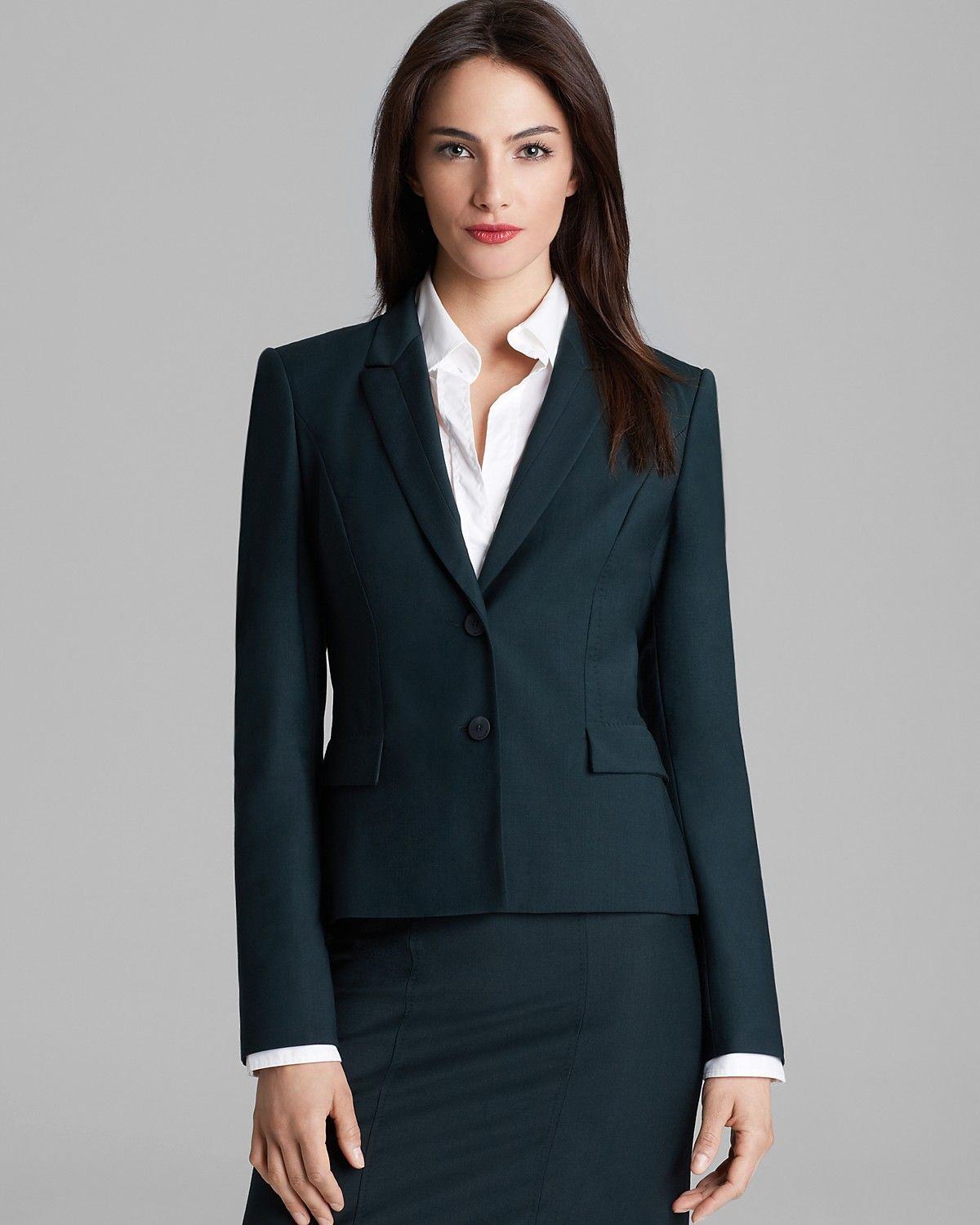 fc385e737 BOSS Hugo Boss Jilina Blazer | Bloomingdale's Business Outfits Women,  Business Women, Blazer Shirt
