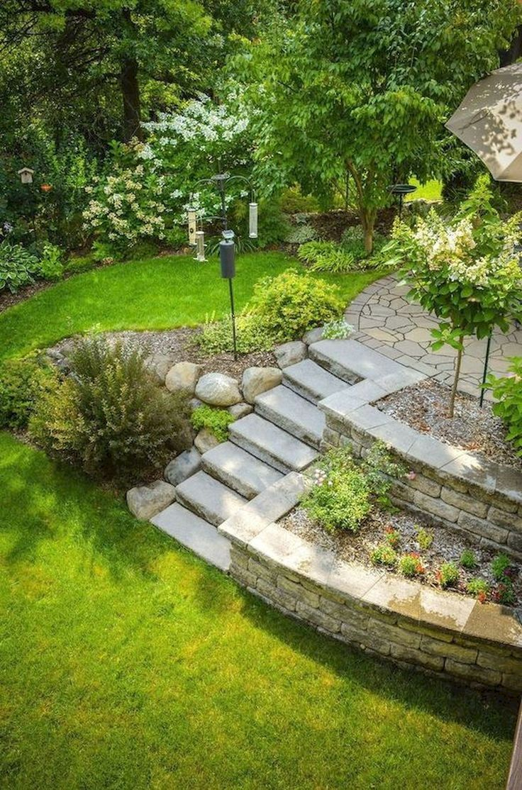 50 Green Backyard And Front Yard Landscaping Ideas Garden Gardens Gardendesig Large Backyard Landscaping Front Yard Landscaping Budget Backyard