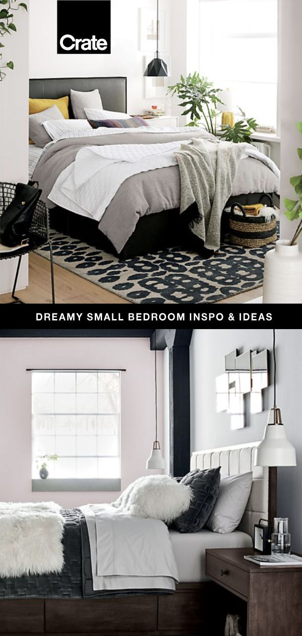 Don't Let Size Keep You From Your Dream Bedroom. Our