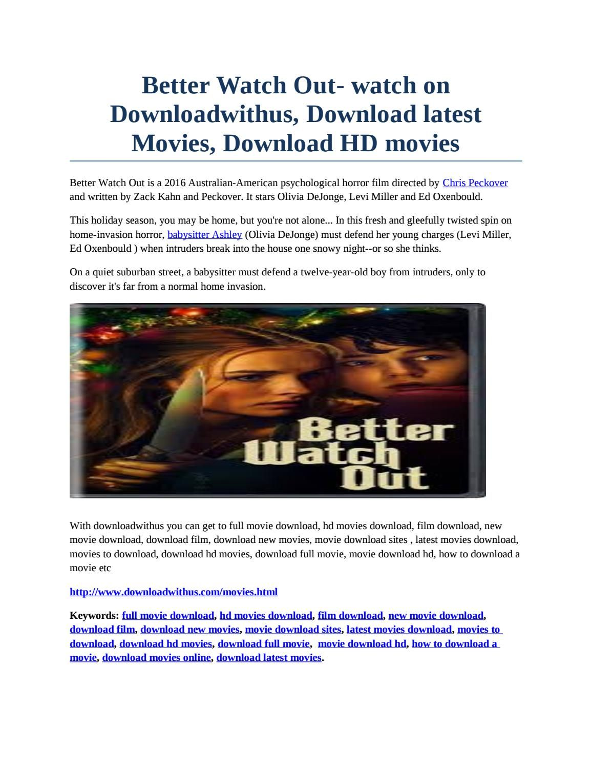 better watch out- watch on downloadwithus, download latest movies