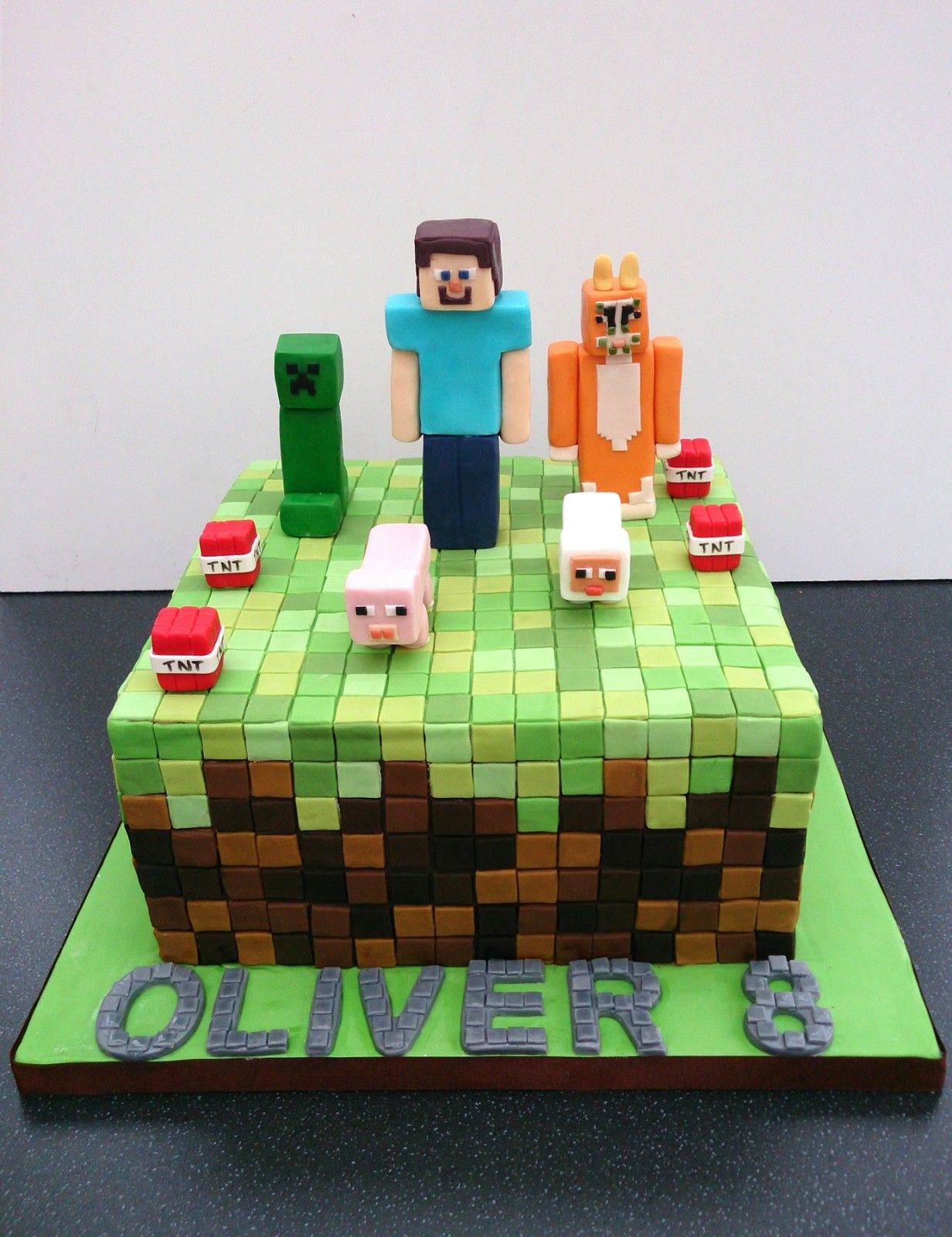 Minecraft Birthday Cake Sponge Poole Dorset Main 1232x1600g 1232