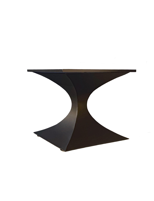 Metal Pedestal Table Base Hourglass Pedestal Table Base Metal