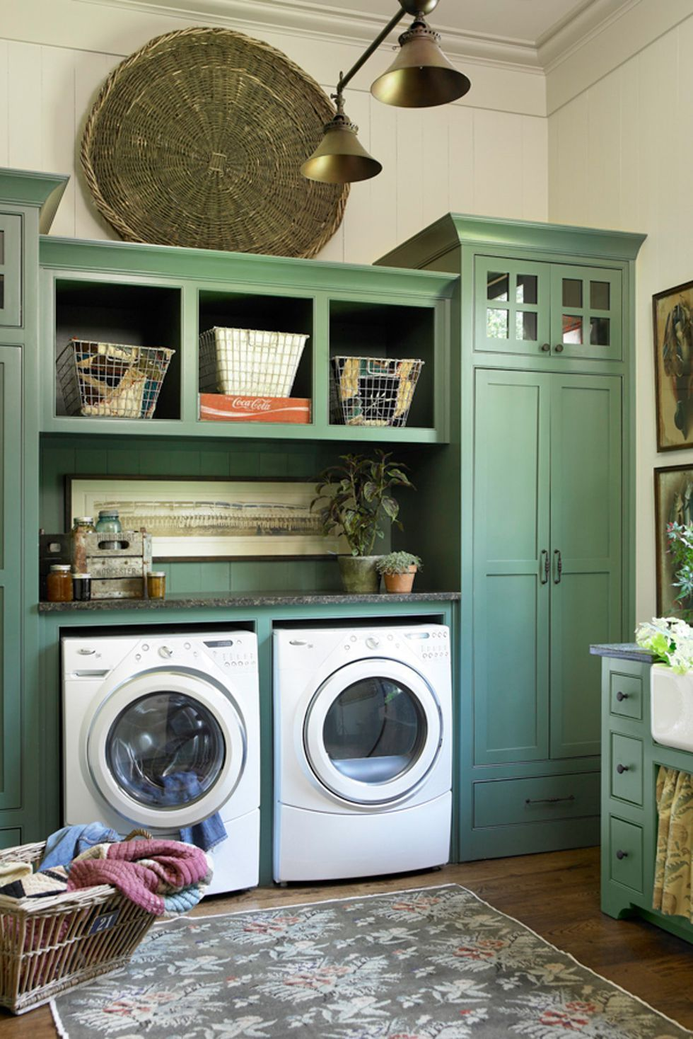 15 Brilliant Design Ideas For Small Laundry Rooms With Images