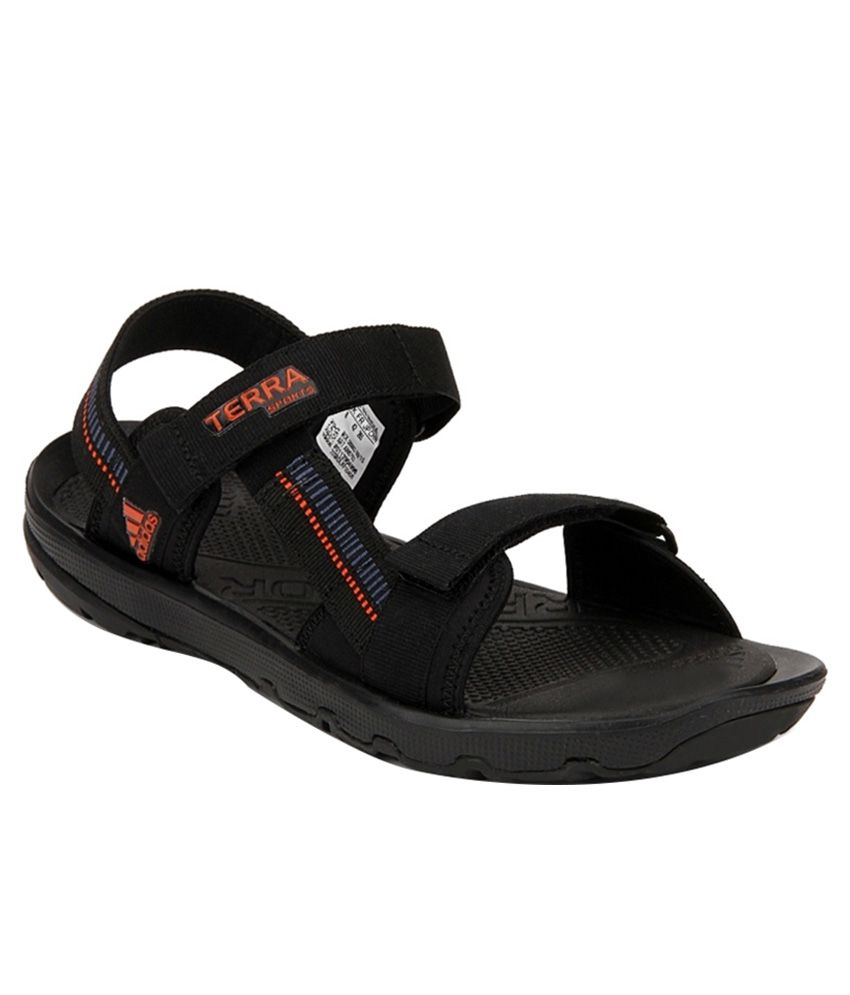 6d833a146 Adidas Black Floater Sandals Price in India- Buy Adidas Black Floater Sandals  Online at Snapdeal