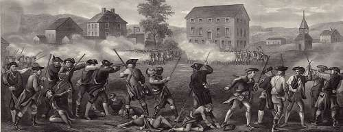 The battle at Lexington and Concord was the first battle of the ...