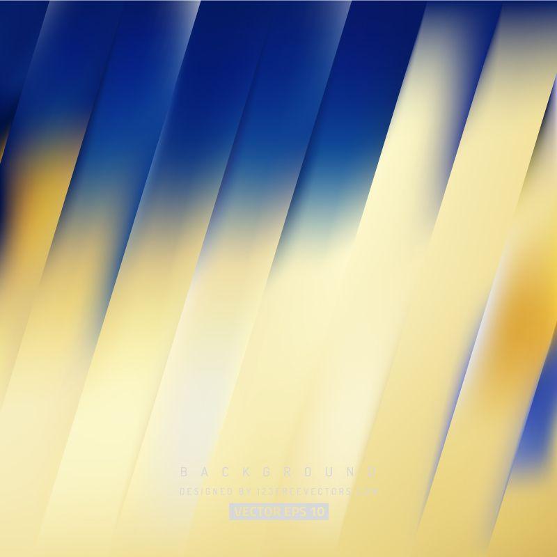 Blue Gold Stripes Background Design Gold Background Gold