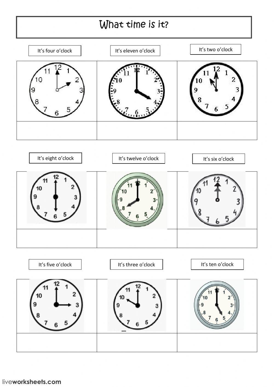 Time Worksheets Pdf Grade 2