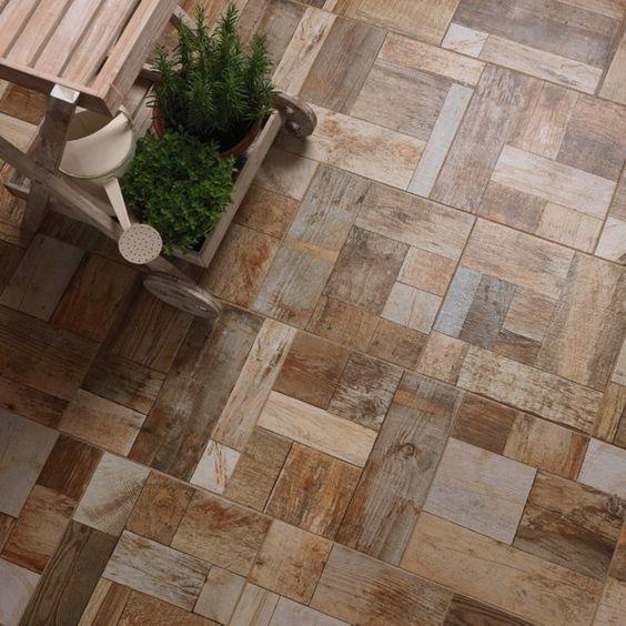 Pavimenti per terrazze effetto legno idee pavimenti for Idee per pavimenti esterni economici