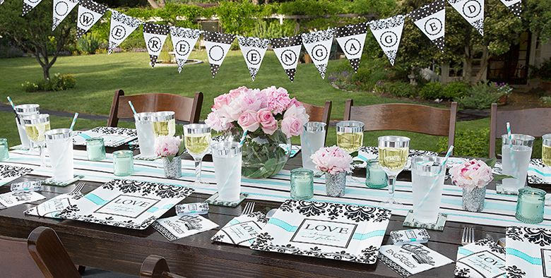 small engagement party ideas home