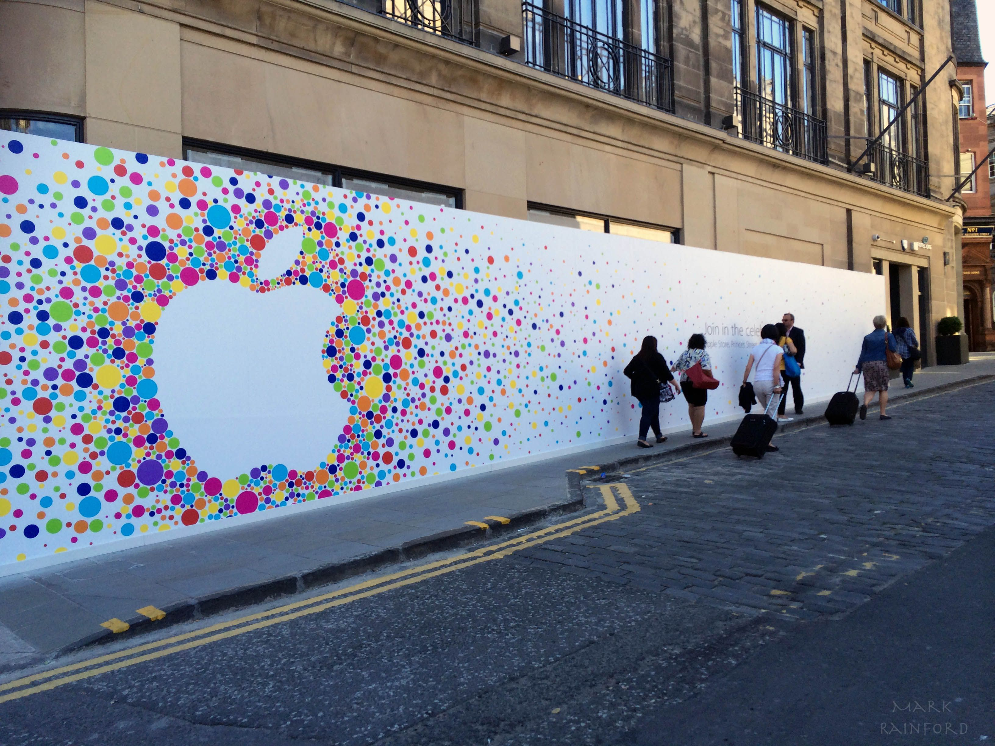 Apple Store Images Google Search Hoarding Design Wayfinding Signage Environmental Design