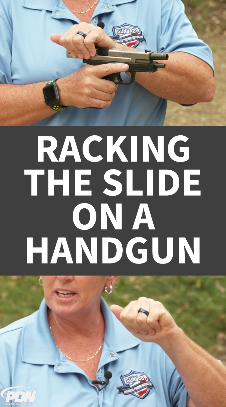 Racking the Slide on a Handgun | Firearms Training | Hand