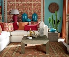 Latin America On Pinterest American Decor Cultural Mexican Home Decor Mexican Living Rooms Mexican Style Decor