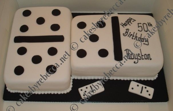 Domino Cake With Images 75 Birthday Cake Cupcake Cakes