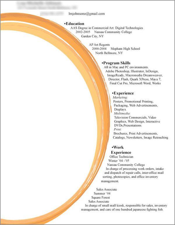 27 Examples of Impressive Resume(CV) Designs - DzineBlog - impressive resume