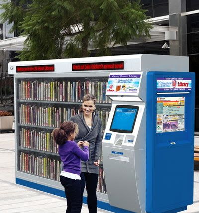 picadorbookroom: Good job, Oklahoma! The first 24-hour library vending machine in the US.