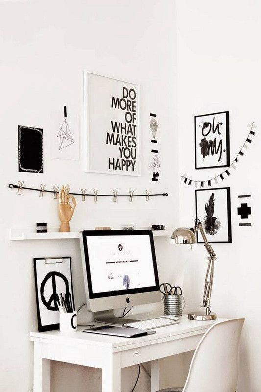 The RIGHT Way to Organize Your Home Office | Office organisation ...