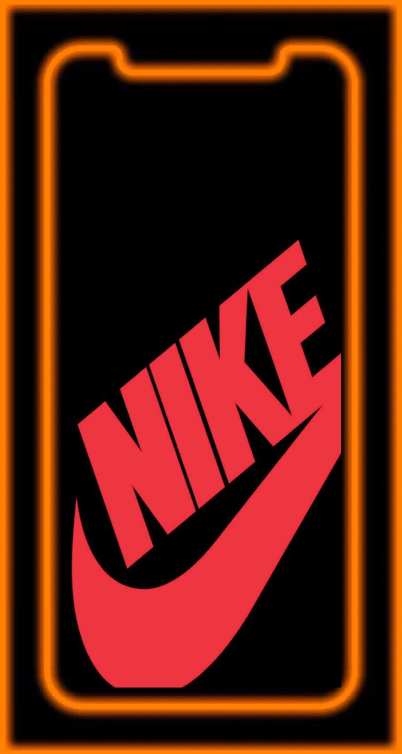Wallpaper Iphone X Nike Red In 2019 Apple Wallpaper