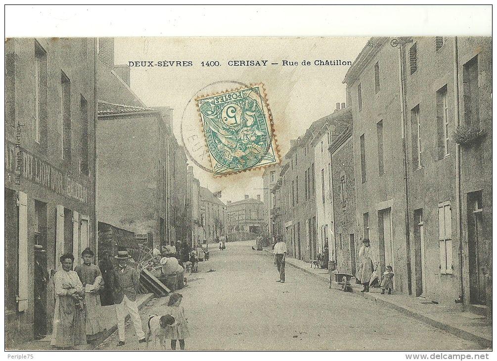 CERISAY.  Rue de Chatillon.