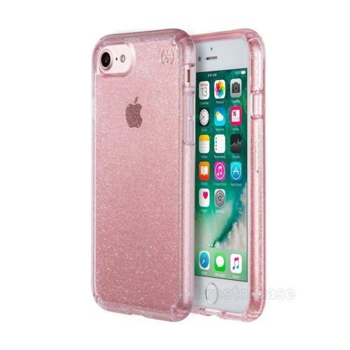 iphone 7 pink glitter case