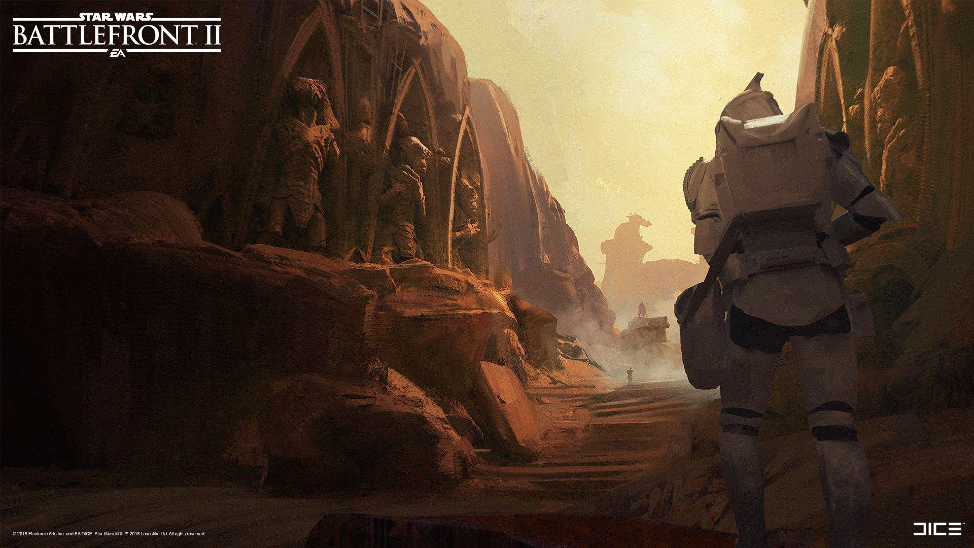 Artstation Star Wars Battlefront Ii Geonosis Esbjorn Nord