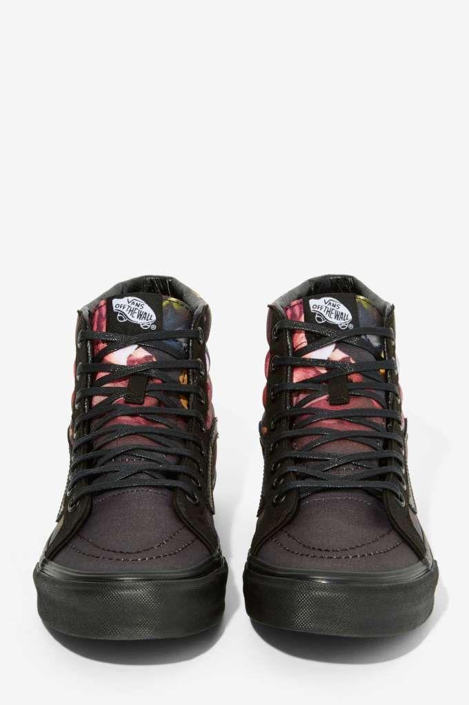 feccdc3dac4610 Vans Sk8-Hi Slim Sneaker - Ombre Floral - Flats